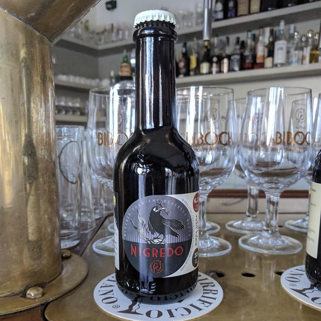 Beer Image for Nigredo Schwarzbier provided by Birrificio Italiano