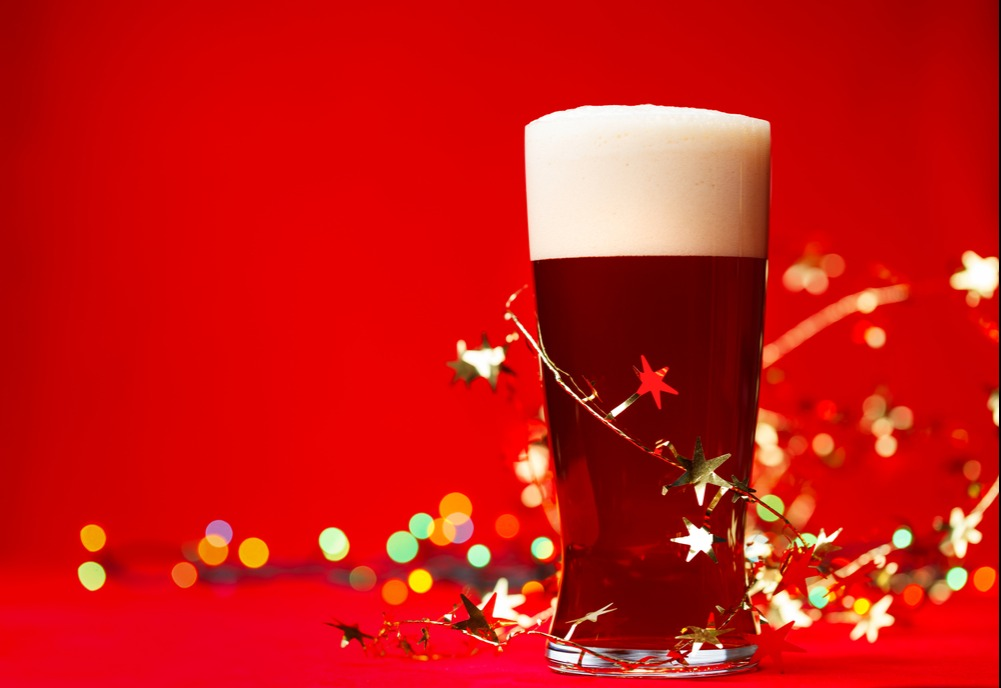 Beer Image for Hoppy Claus Holiday Ale provided by Hoppy Brewing Company