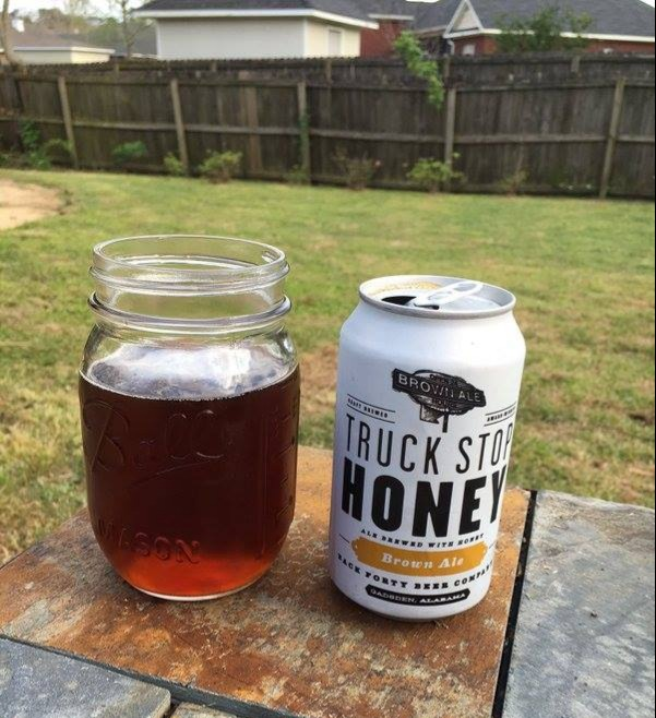 Beer Image for Truck Stop Honey provided by Back Forty Beer Company