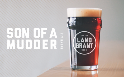 Beer Image for Son of a Mudder American Brown Ale provided by Land-Grant Brewing