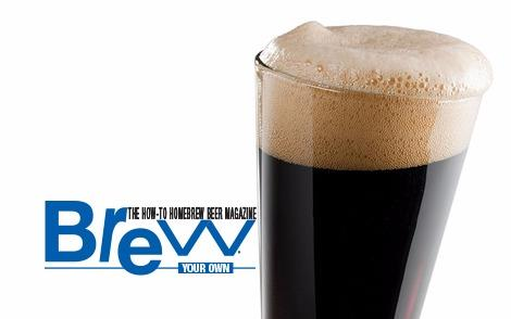 Beer Image for Brew Your Own Irish Dry Stout provided by Brew Your Own