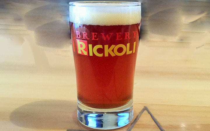 Beer Image for The Authoritah! Amber Ale provided by Brewery Rickoli