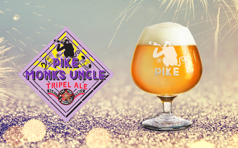 Beer Image for Pike Monk's Uncle Tripel provided by Pike Brewing Company