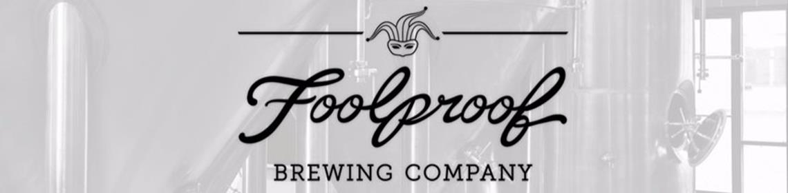 Banner image provided and maintained by brewer Foolproof Brewing Company