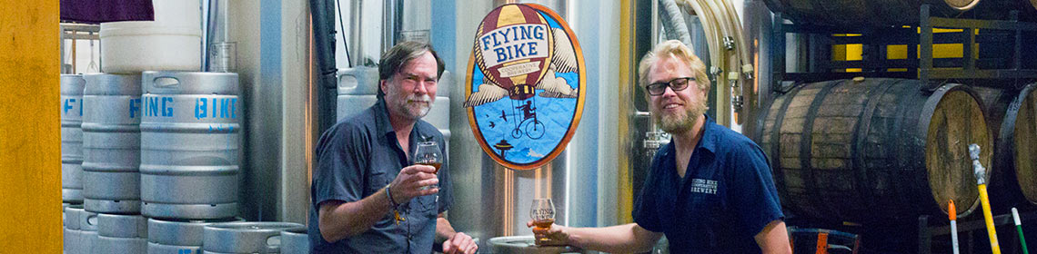 Banner image provided and maintained by brewer Flying Bike Cooperative Brewery