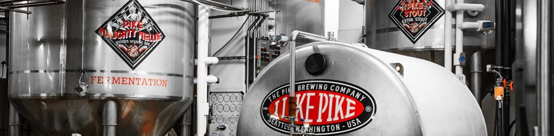 Banner Imaged provided by brewer Pike Brewing Company
