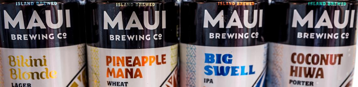 Banner Imaged provided by brewer Maui Brewing
