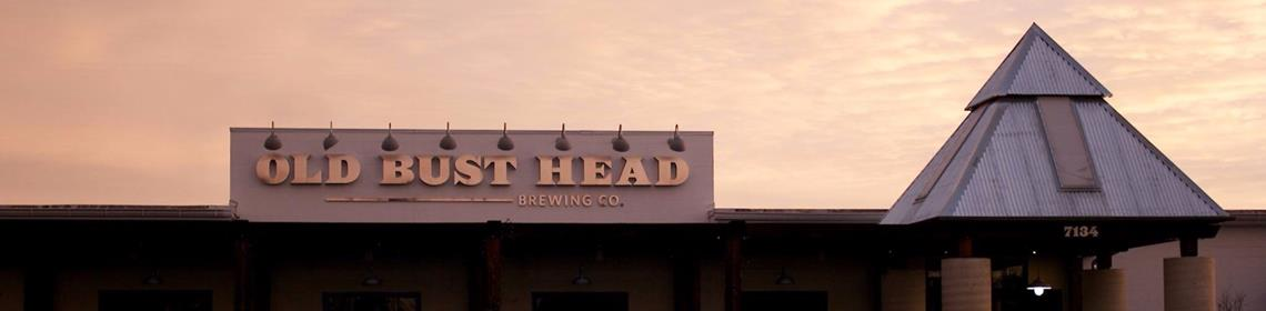 Banner Imaged provided by brewer Old Bust Head Brewing Co.
