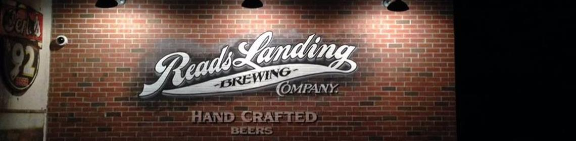 Banner Imaged provided by brewer Reads Landing Brewing Company