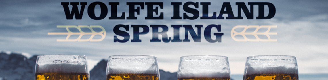 Banner Imaged provided by brewer Wolfe Island Spring Brewery