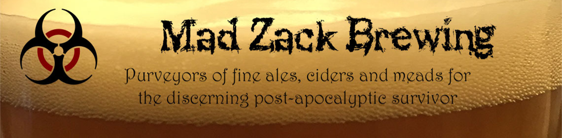 Banner Imaged provided by brewer Mad Zack Brewing