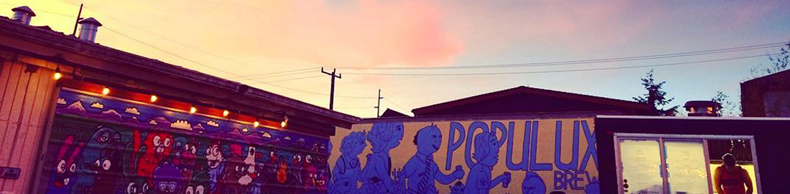 Banner Imaged provided by brewer Populuxe Brewing