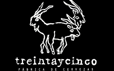 Brewer logo for Treintaycinco