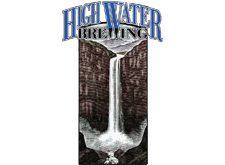 Brewer logo for High Water Brewing