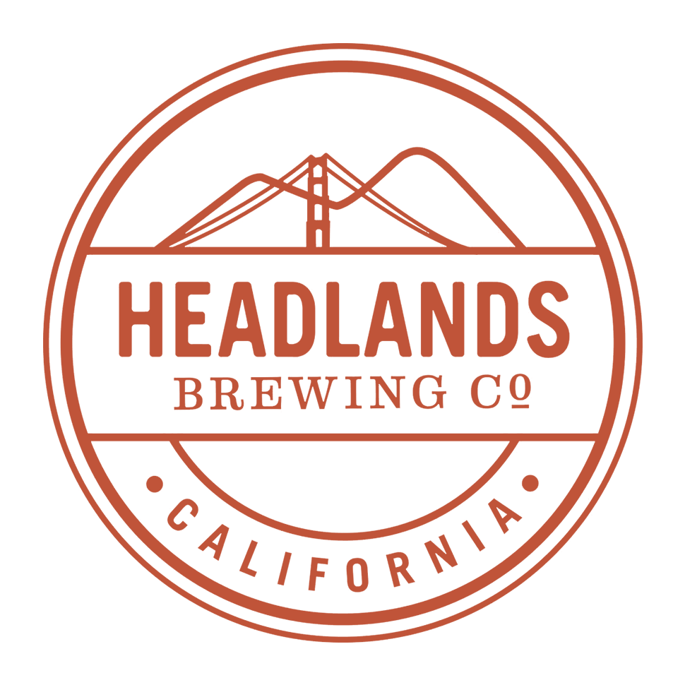 Brewer logo for Headlands Brewing Company
