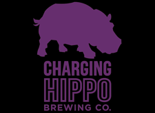 Brewer logo for Charging Hippo Brewing Co.
