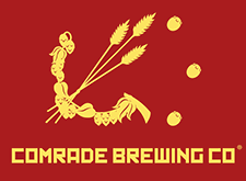 Brewer logo for Comrade Brewing Co