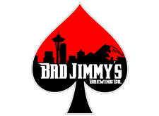 Brewer logo for Bad Jimmy's Brewing Co.