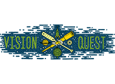 Brewer logo for Vision Quest Brewery