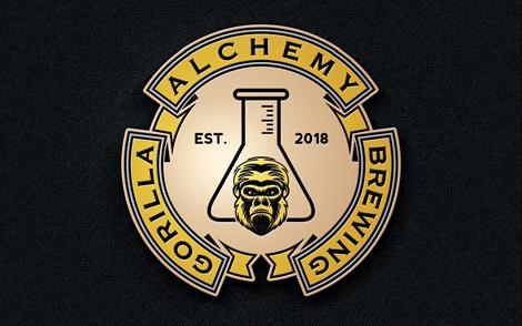 Brewer logo for Gorilla Alchemy Brewing
