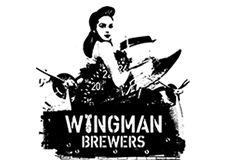 Brewer logo for Wingman Brewers