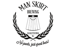 Brewer logo for Man Skirt Brewing