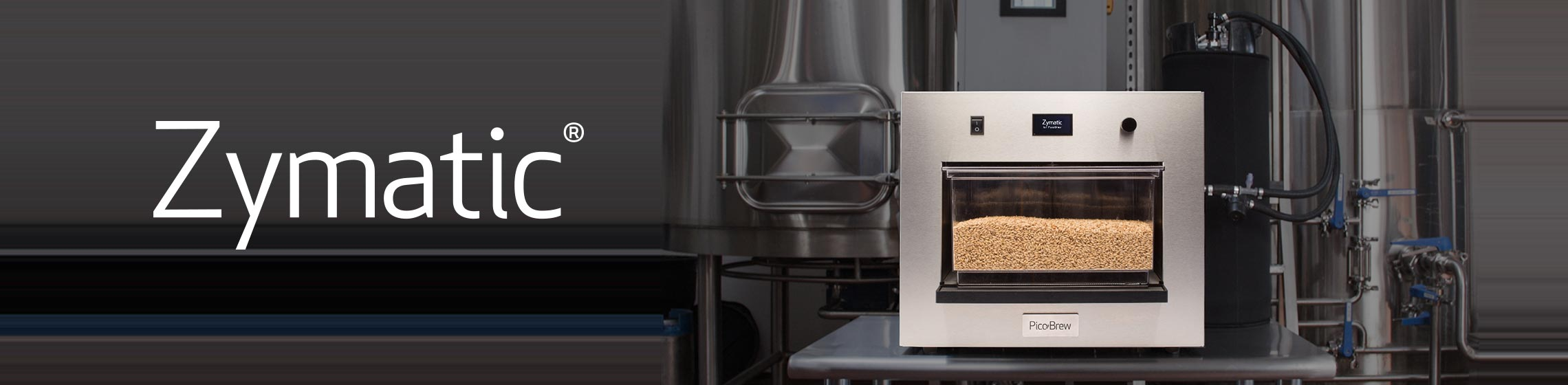 PicoBrew Zymatic brewing appliance pictured in brewery